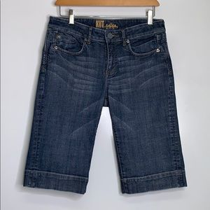 KUT FROM THE KLOTH • Denim Bermuda Shorts